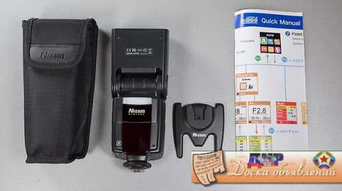 вспышка NISSIN Di866 professional for Sony