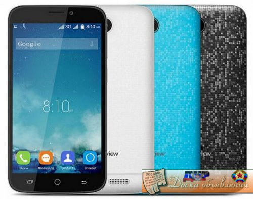 "Blackview A5 4.5"" 480p/4 ядра/1Gb/8Gb/5+2Mpx/2000mAh"