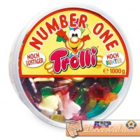 Желейки Trolli Number One, 1000гр
